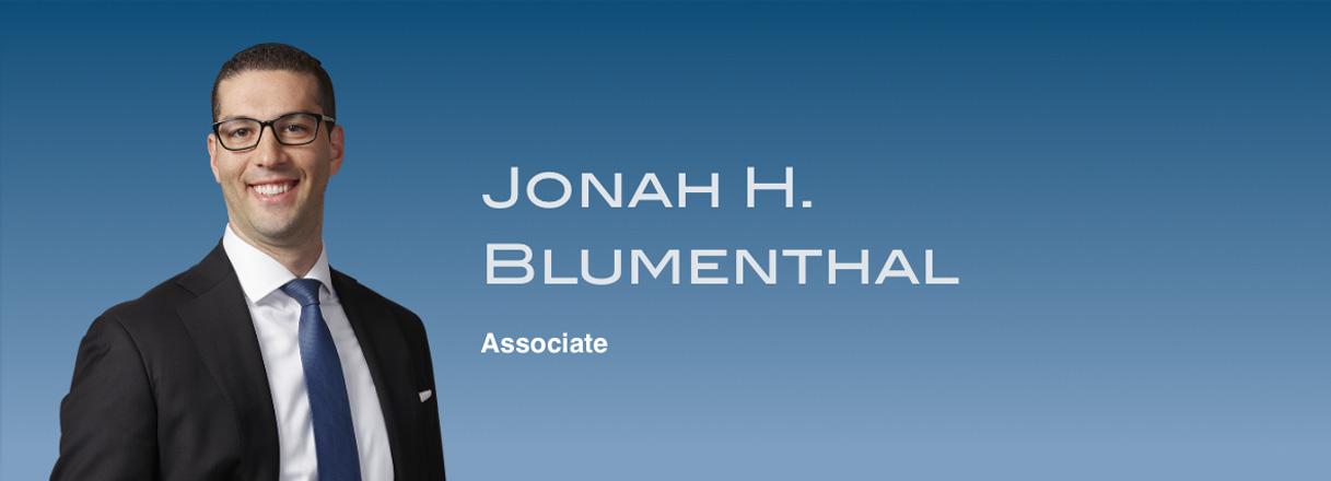 Jonah H. Blumenthal