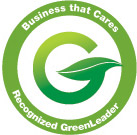 Business That Cares - Recognized Green Leader