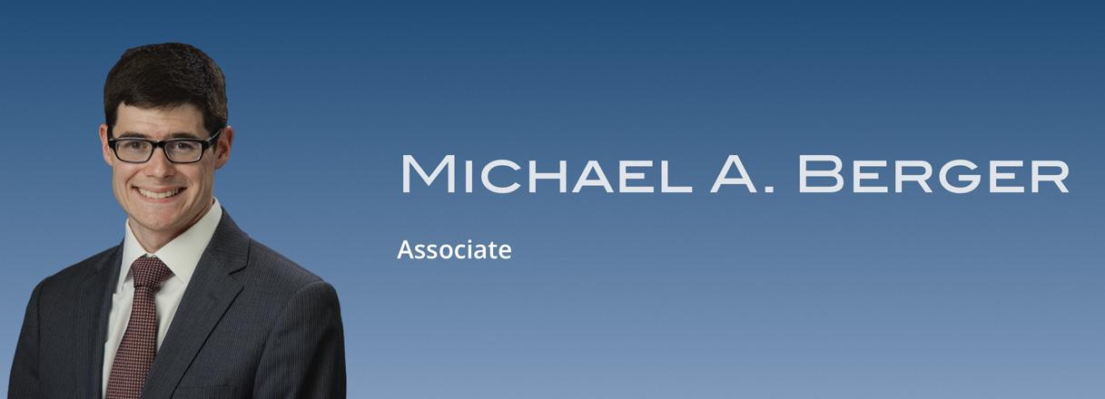Michael A. Berger